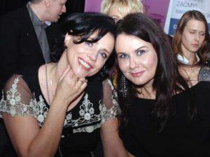 """Barbara Jończyk, prezes Klubu Integracji Europejskieji Agnieszka Michalczyk, tworczyni projektu """"Debiutantki"""""""