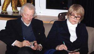 Andrzej Kopiczyński i Monika Dzienisiewicz