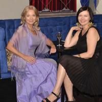"""Aktorka Laura Łącz i Aneta Sienicka, sekretarz redakcji magazynu """"przedsiębiorcy@eu"""""""