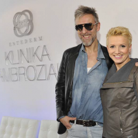 Robert Kupisz z Martą Kuligowską