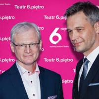 Założyciele teatru – Eugeniusz Korin i Michał Żebrowski