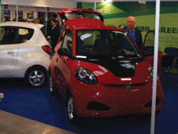 Elektryczne auto chińskiej produkcji