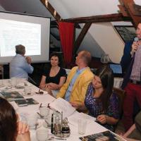 Wykład o funduszach unijnych poprowadził Paweł Ivanek z z firmy Varsovia Capital S.A.