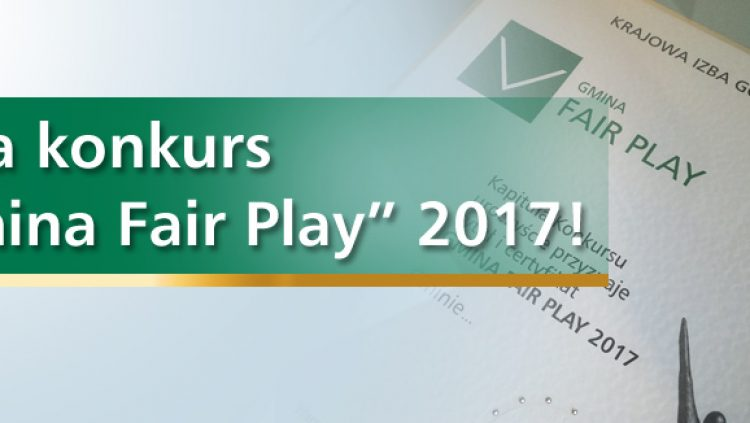 Gmina Fair Play 2017 - partnerzy i roni medialni konkursu