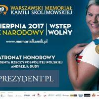 LOTTO Warszawski Memoriał Kamili Skolimowskiej 2017 - zaproszenie na Stadion Narodowy!