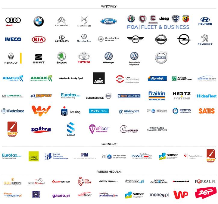 Fleet Market 2017 - wystawcy, partnerzy i patroni medialni