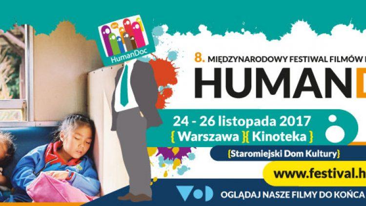 """Międzynarodowy Festiwal Filmów Dokumentalnych HumanDOC """"Globalny Rozwój w Kinie"""" - polecam"""