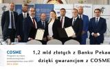 Pieniądze z europejskiego funduszu COSME dla Banku Pekao!