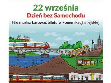 Europejski Dzień bez Samochodu i Dzień Transportu Publicznego w Warszawie