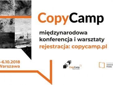 CopyCamp – o prawach autorskich, to nie jest konferencja prawnicza!