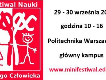 Festiwal Nauki Małego Człowieka, czyli zajęcia obowiązkowe (dla dzieci i rodziców)