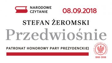 """NARODOWE CZYTANIE w Ogrodzie Saskim: """"Przedwiośnie"""" w wersji Andrzeja Dobosza. Warto, nie warto?"""