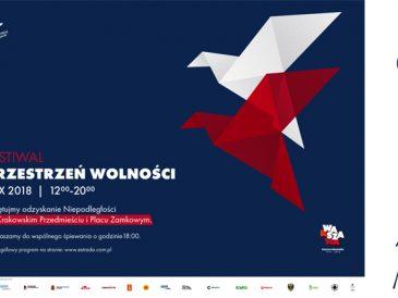 Polecam na sobotę: warszawski Festiwal Przestrzeń Wolności !