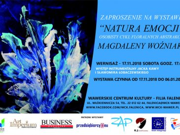 Mag Woźniak i Natura emocji – wystawa malarstwa w Falenicy (patronat magazynu)