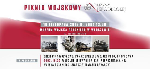 Piknik wojskowy przed Muzeum Wojska Polskiego