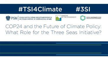 Trójmorze a szczyt klimatyczny COP24 w Katowicach, polecam konferencję PISM