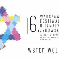 16. Warszawski Festiwal Filmów o Tematyce Żydowskiej