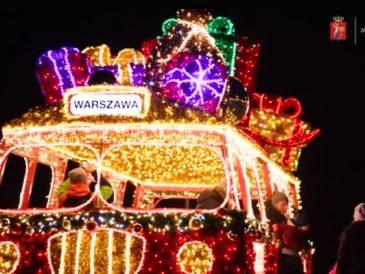 Świąteczna iluminacja Warszawy zostanie włączona w sobotę o 15.30. Pstryk!