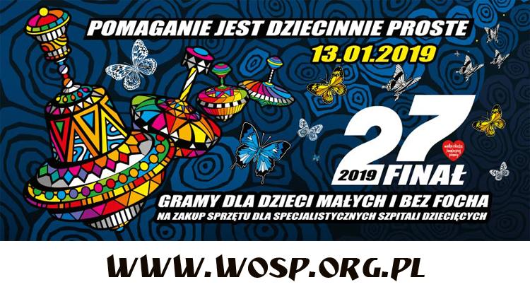 27 finał Wielkiej Orkiestry Świątecznej Pomocy już w niedzielę!