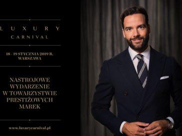 Luxury Carnival, festiwal luksusowych marek - patronat medialny magazynu