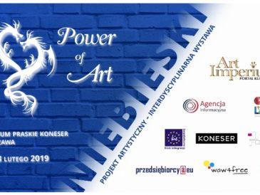 Kolejna kolorowa wystawa w Koneserze, tym razem bohaterem będzie niebieski (patronat medialny magazynu)