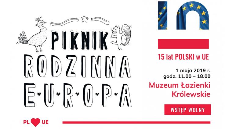 Piknik Rodzinna Europa w Łazienkach