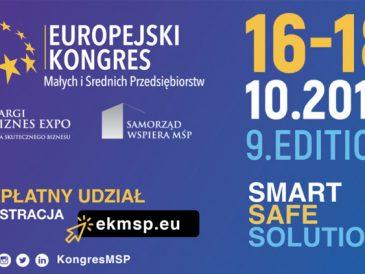 Zarezerwuj sobie czas na Katowice, na Europejski Kongres Małych i Średnich Przedsiębiorstw !
