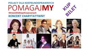 Artyści dla Niepełnosprawnych, już 12 września zapraszamy na wyjątkowy koncert !