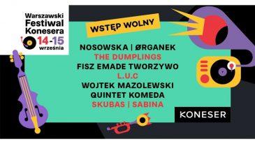 Warszawski Festiwal Konesera, edycja 2019