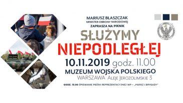 """Piknik """"Służymy Niepodległej"""" odbędzie się w przeddzień Święta Niepodległości w 34 miastach w całej Polsce"""