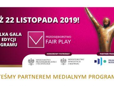 Przedsiębiorstwo Fair Play, przed nami już finał 22. edycji programu !