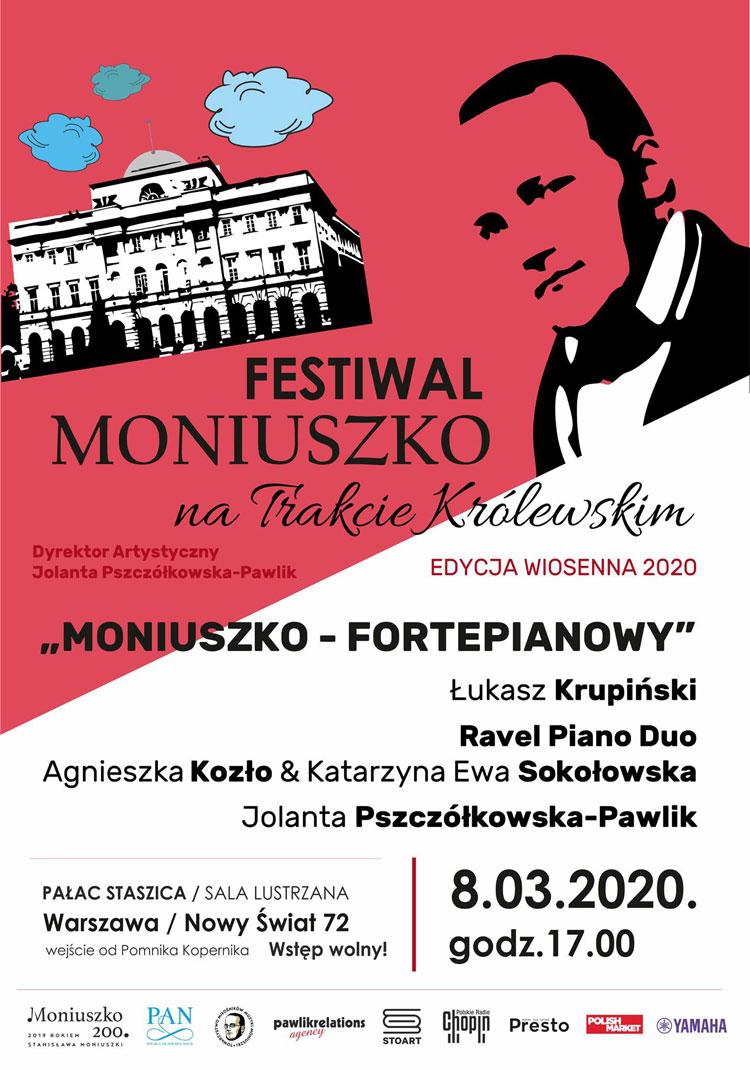 Moniuszko na Trakcie Królewskim - koncert 8 marca