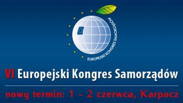 uropejski Kongres Samorządów: zmiana terminu kongresu!