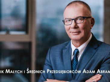 Rzecznik Małych i Średnich Przedsiębiorców Adam Krzysztof Abramowicz (fot. materiały prasowe)