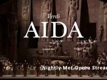 """""""Aida"""" Verdiego w Metropolitan Opera, online, bo tak u nas, jak w Nowym Jorku teatry wciąż zamknięte. Za to za darmo!"""