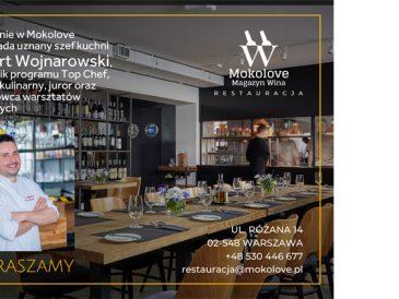 Warto odwiedzić: Restauracja i Magazyn Wina Mokolove