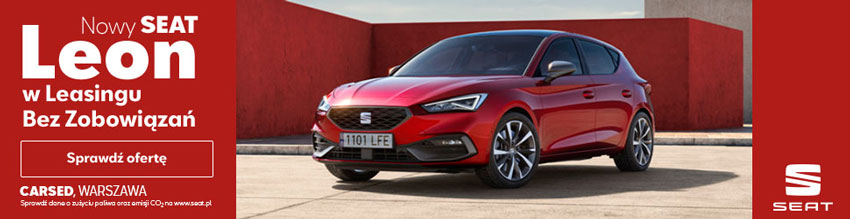 CARSED - nowy SEAT Leon