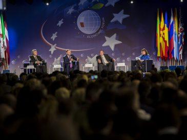 Tegoroczne Forum Ekonomiczne odbędzie się nie w Krynicy, a w Karpaczu. Winny COVID-19... (zdjęcie z archiwum Forum Ekonomicznego)