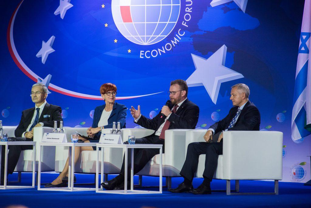 XI Forum Ochrony Zdrowia z udziałem byłego ministra zdrowia, Łukasza Szumowskiego