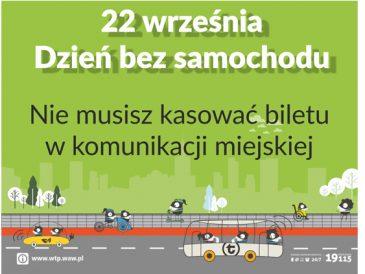 22 września, Światowy Dzień bez Samochodu