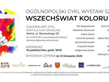 Wszechświat Koloru w Kielcach