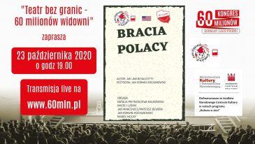 Krakowski Teatr Komedia zagra dla 60 Milionów i nas też zaprasza!