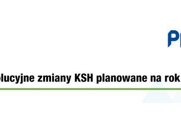PKF Alert: rewolucyjne zmiany w Kodeksie Spółek Handlowych