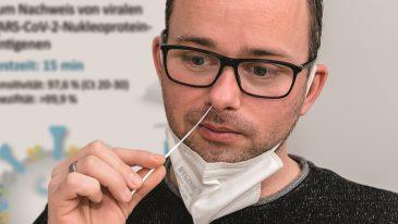 Test na koronowirusa jeszcze prostszy i szybszy?