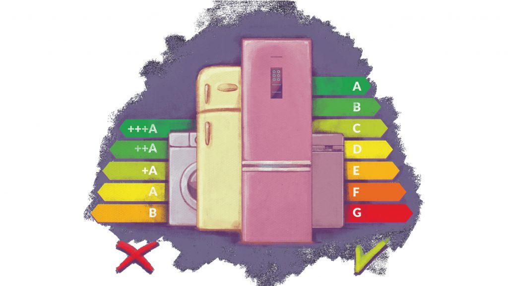 Nie kupimy już pralki klasy A, zadowolić się musimy klasą B lub C. Nowe etykiety energetyczne obowiązują od 1 marca