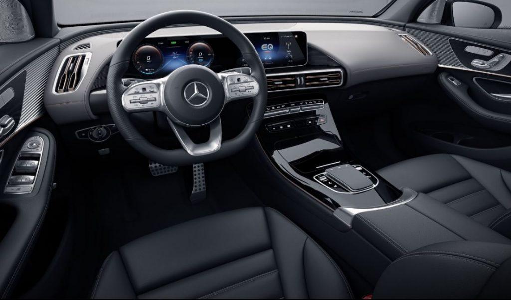 Mercedes EQC, kokpit