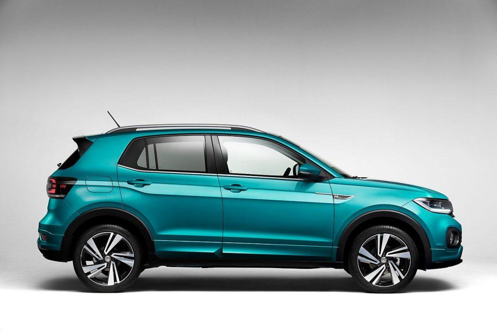 Volkswagen T-Cross z boku