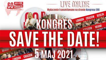 Kongres 60 Milionów już 5 maja, bądź z nami!
