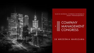 Nowy termin Company Management Congress to 28 września!