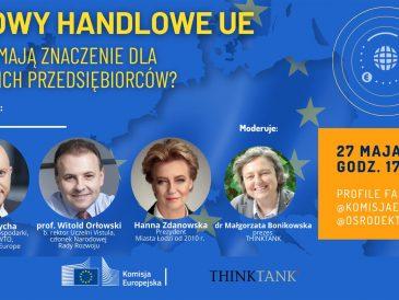 Zaproszenie na kolejną z 10 Rozmów o Europie